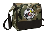 Soccer Fan Lunch Bag Cooler Camo