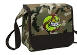 Softball Lunch Bag Cooler Camo