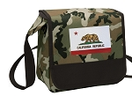 California Flag Lunch Bag Cooler Camo