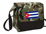 Cuban Flag Lunch Bag Cooler Camo