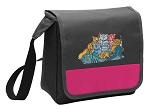 Crazy Cat Lunch Bag Cooler Pink