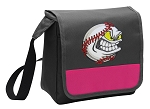 Baseball Lunch Bag Cooler Pink