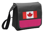 Canadian Flag Lunch Bag Cooler Pink