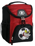 Soccer Fan Best Lunch Bag Cooler Red