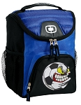 Soccer Fan Best Lunch Bag Cooler Blue