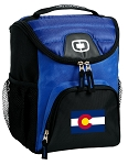 Colorado Best Lunch Bag Cooler Blue