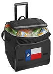 Texas Flag Rolling Cooler Bag