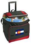 Colorado Rolling Cooler Bag Red