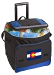 Colorado Rolling Cooler Bag Blue