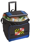 Maryland Rolling Cooler Bag Blue
