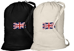 England British Flag Laundry Bags 2 Pc Set