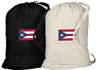 Puerto Rico Flag Laundry Bags 2 Pc Set