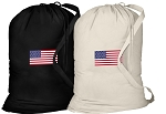 American Flag Laundry Bags 2 Pc Set