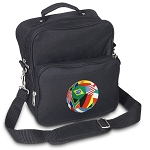 Soccer Small Utility Messenger Bag or Travel Bag