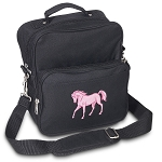 Cute Horse Small Utility Messenger Bag or Travel Bag