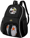 Soccer Nut Soccer Backpack or Soccer Fan Volleyball Bag for Boys or Girls