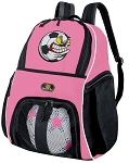 Girls Crazy Soccer  Backpack or Soccer Fan Volleyball Bag