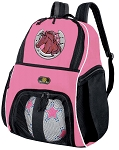 Girls Horses Soccer Backpack or Horse Lover Volleyball Bag