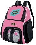 Girls Christian Soccer Backpack or Christian Theme Volleyball Bag