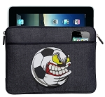 Soccer Fan Ipad Sleeve Blue