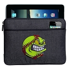 Softball Tablet Sleeve or Ipad Case