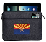Arizona Flag Ipad Sleeve Blue