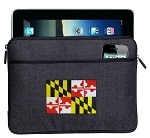 Maryland Ipad Sleeve Blue