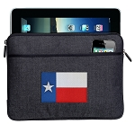 Texas Flag Ipad Sleeve Blue
