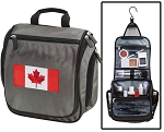 Canada Toiletry Bag or Shaving Kit Gray