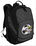 Soccer Fan Deluxe Laptop Backpack Black