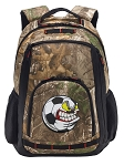 Soccer Fan RealTree Camo Backpack