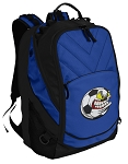 Soccer Fan Deluxe Computer Backpack Blue