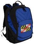 Maryland Deluxe Computer Backpack Blue
