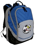 Soccer Fan Deluxe Laptop Backpack Blue