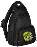 Soccer Nut Backpack Cross Body Single Strap Style