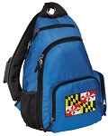 Maryland Sling Backpack Blue