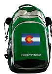 Colorado Harrow Field Hockey Lacrosse Bag Green