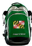 Maryland Harrow Field Hockey Lacrosse Bag Green