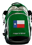 Texas Flag Harrow Field Hockey Lacrosse Bag Green