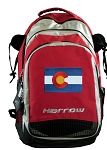 Colorado Harrow Field Hockey Lacrosse Bag Red