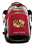 Maryland Harrow Field Hockey Lacrosse Bag Red