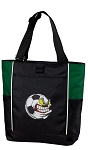 Soccer Fan Tote Bag Green