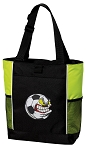 Soccer Fan Tote Bag COOL LIME