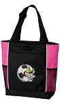 Soccer Fan Tote Bag Pink