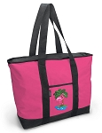 Deluxe Pink  Flamingo Tote Bag