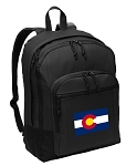 Colorado Flag Backpack - Classic Style