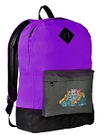 Cats Backpack CLASSIC STYLE Purple