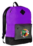 Soccer Backpack CLASSIC STYLE Purple