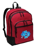 DOLPHINS Backpack CLASSIC STYLE Red