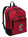 Flamingo Backpack CLASSIC STYLE Red